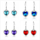 1 Pairs Fashion women lady Elegant Crystal Hook Earrings Dangle Earrings Earring