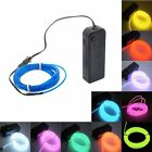 Fairy Light Rope String Lighting Neon LED EL Wire Christmas Party Car decorate