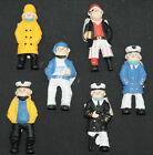 Sailor Magnet - 6 styles to select 75mm high. Good colour detail FREE POSTAGE