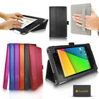 CARBON FIBRE CASE COVER FOR GOOGLE NEXUS 7 II 2 - SCREEN PROTECTOR SLEEP SENSOR