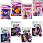 Childrens Craft Set Sequin Cross Stitch Embroidery Knitting Loom Bands Bracelets