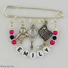 Personalised Hairdressers/Beautician Salon / Bag / Tunic Charm / Thank You Gift