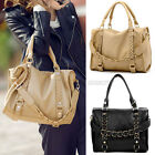 New Womens Ladies Knitted Knit Chain Handbag Tote Hobo Shoulder Bag Hangbag