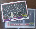"""(13) Hockey Insert Posters, 1980 Topps 5x7"""" pictures of 1979-80 Teams"""
