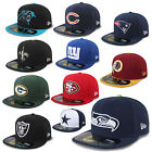 NEW ERA CAP 59FIFTY NFL ON FIELD FOOTBALL RAIDERS REDSKINS GIANTS SEAHAWKS UVM