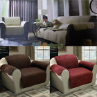 1PC Quilted Suede Arm Chair Pet Dog Cat Cover Protects Furniture 6 Colors