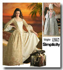 S4092 Pattern Costume Historical Marie Antoinette Baroque Style Louis XVI 1780s