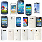 For Samsung Various Phones Book Type PU Leather Magnetic Case Cover+Guard+Stylus
