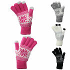 G89 LADIES WOOL BLEND WINTER WARM TOUCH SCREEN iPAD iPHONE SMART PHONE GLOVE NEW