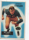 1955 Bowman Football Card #79 Dale Dodrill-Pittsburg Steelers