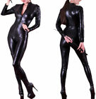 Ladies Lycra Spandex Bodysuit  Catsuit Catwoman Dress Hen Party Costume Outfit
