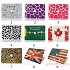 New 9 Pattern Design Rubberized Hard Case For Apple Macbook Retina Pro 13 inch