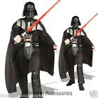 C223 Star Wars Darth Vader Deluxe Licensed Mens Fancy Dress Adult Costume + HELM $80.28 AUD