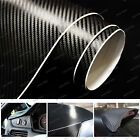 "12"" 24"" 36"" 48"" 60"" 72"" 96"" 3D Carbon Fiber Vinyl Wrap Bubble Free Air Release"
