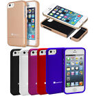 New Ultra Thin Slide On iSlide Rubberized Hard Case Cover For Apple iPhone 5S 5