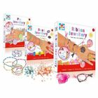 Kids Create Childrens Make Your Own Jewellery Beads Ribbon or Pin Jewellery Set!