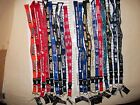 NHL HOCKEY TEAMS LANYARD BREAKAWAY CLIP KEYCHAIN OFFICIALLY LICENSED NECK STRAP