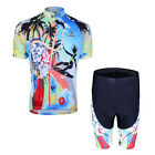 Cycling Bike Short Sleeve Clothing Set Bicycle Suit Jersey Shorts S-3XL CC0152