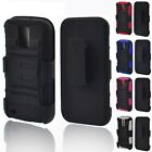Rugged Tough Layered Hybrid Beltclip Holster Case For Samsung Galaxy S2 SII T989