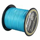Super Strong  8Strands Braided Dyneema Sea Fishing Line Agepoch 100M Blue
