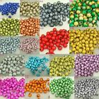 4mm Wholesale illusion Acrylic Round Miracle Bead Craft Spacer Charm Loose Beads
