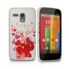 Love Heart Gel Case TPU Skin Cover For Motorola Moto G 1st Gen