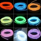 1M/2M/3M/5M EL Wire 2.3mm Highlight Neon Glow Light Christmas party +Controller