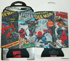 The Amazing Spider-Man Comic Book Covers Beer Huggie Can Cooler, NEW UNUSED