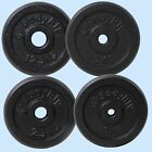 "CAST IRON 1"" HOLE WEIGHT PLATE PLATES DISCS WEIGHTS TRAINING EXERCISE GYM MUSCLE"