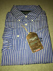 "BNWT Mens 100% Cotton ""Complices"" Blue striped Long Sleeve Shirt - Size S-XXL"