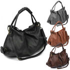 New Womens Ladies Faux Leather Messenger Hobo Bag Tote Handbag Satchel