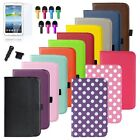 Rotating PU leather Case Cover For Samsung Galaxy Tab 3 7.0 7 inch Tablet Swivel