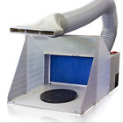Airbrush Spray Booth Kit Paint Craft Odor Extractor Hobby Crafts Figurines New