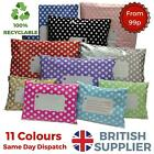 Polka Dot Mail Postal Post Mailing Bags Shabby Chic Strong Self Seal MULTI LIST