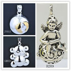 Silver Angel Wings Harmony Ball Gemany Jewelry Chime Sounds Baby Dream trailer