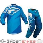 FLY RACING 2014 F-16 BLUE ENDURO MTB MX RACE JERSEY & PANTS COMBO MOTOCROSS KIT