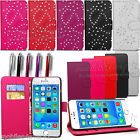 New Flip Leather Case Cover For Apple iPhone 4,4S,5 5S,Free Screen Protector
