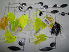 (3) MATZUO SPINNERBAIT FISHING LURE CHOICE OF COLOR, WEIGHT AND BLADE STYLE