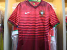 PLAYER EDITION NIKE OFFICIAL Portugal Home World Cup 2014 Football Jersey