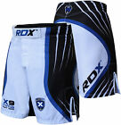 RDX Shorts UFC MMA Grappling Short Kick Boxing Mens Muay Thai Pants Gym Wear BW