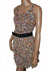 BN Ladies Brown & Purple Floral Evening Dress - UK 14 & 16