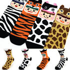 Baby Animal Friends Cute Character Socks Women Girl Big Kid