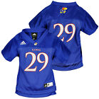 Adidas NCAA College Toddlers Kansas Jayhawks # 29 Basketball Jersey, Blue
