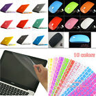 12 Colors 4in1 Matte Rubberized Hard Case Wireless mouse for Macbook Pro 13 inch