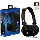 PS4 Gaming Chat Headset with Mic BLACK Officially Licensed PRO4-10 PlayStation 4