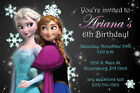 Frozen Invitations Personalized Birthday Party - Anna, Elsa and Olaf Disney