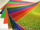 """Glittering Sign Vinyl 24"""" x 5 feet LongLife  Holographic Sparkling Sequins"""