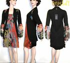 SAVE THE QUEEN bohemian Woodland silk CHIFFON black VEST dress NWT Authentic!