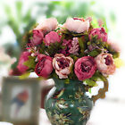 Silk Peony Peonies Flower Artificial Fake Wedding Party Bouquet Posy Decoration