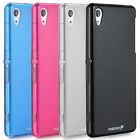 For Sony Xperia Z2 Ultra Slim Fit TPU Smooth Soft Gel Skin Case Phone Cover